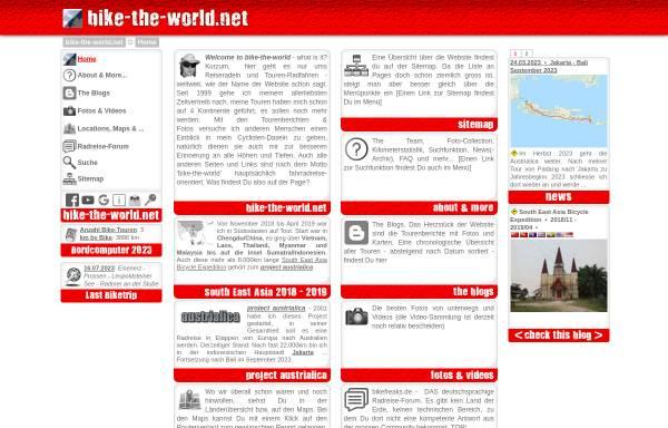 Vorschau von www.bike-the-world.net, Bike-the-world.net