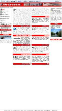 Vorschau der mobilen Webseite www.bike-the-world.net, Bike-the-world.net