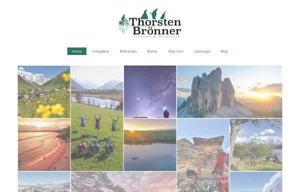 Vorschau von www.thorstenbroenner.de, Radreisen und Landschaftsfotografie