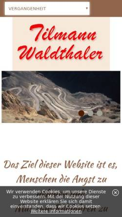 Vorschau der mobilen Webseite www.tilmann.com, Waldthaler, Tilmann