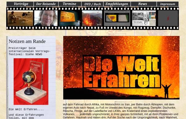Vorschau von www.diewelterfahren.de, Die Welt erfahren