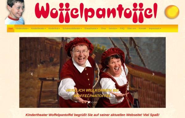 Vorschau von www.woffel.de, Berlin, Kinderliedtheater Woffelpantoffel