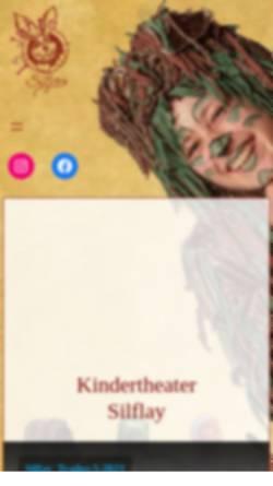 Vorschau der mobilen Webseite www.silflay.de, Berlin, Kindertourneetheaters Silflay