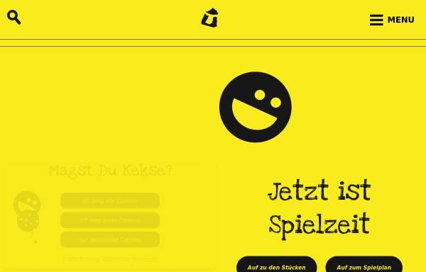Vorschau von www.ueberzwerg.de, Saarbrücken, Kinder- und Jugendtheater Überzwerg