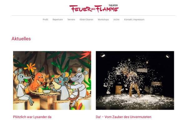Vorschau von www.feuerundflamme.de, Theater Feuer und Flamme