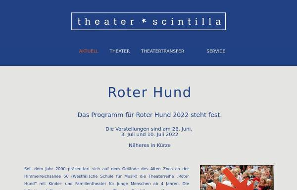 Vorschau von www.theater-scintilla.de, Theater Scintilla