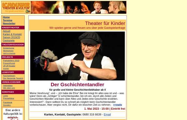 Vorschau von www.ichduwir.at, Wien, Ichduwir-Kinderkultur