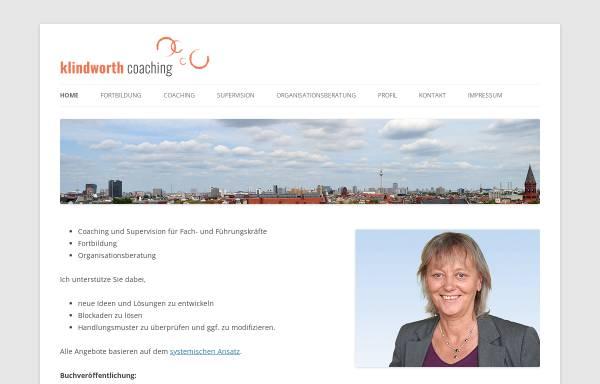 Vorschau von www.klindworth-coaching.de, Klindworth-Coaching - Dr. Gisela Klindworth