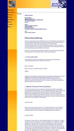 Vorschau der mobilen Webseite www.ostendorf-supervision.de, Marita Ostendorf - Supervision und Coaching
