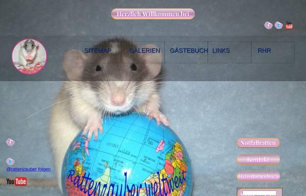 Vorschau von www.rattenzauber.de, Rattenzauber