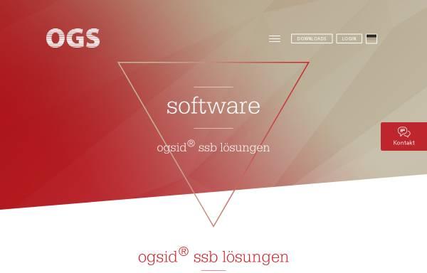 Vorschau von www.ogs.de, Dr. Strauch Systemberatung GmbH