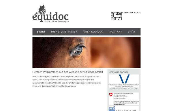 Vorschau von www.horseconsulting.ch, Horse Consulting AG