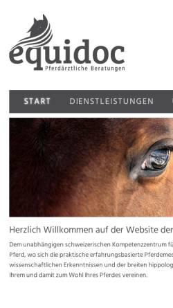 Vorschau der mobilen Webseite www.horseconsulting.ch, Horse Consulting AG