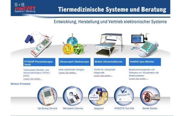 Vorschau von www.submedvet.de, S+B medVET GmbH