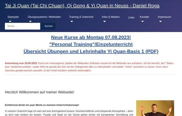Vorschau von innere-kuenste.de, Chinesische Kampfkunst