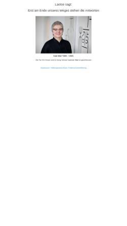 Vorschau der mobilen Webseite taichi-taunus.de, ITCCA - Gabriele Matl