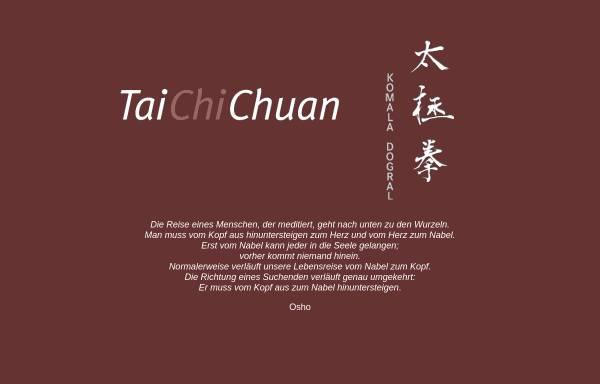 Vorschau von dogral-taichichuan.de, YTAE Komala Dogral