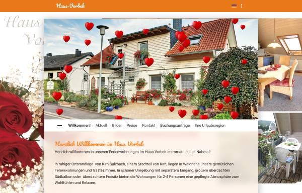 Vorschau von www.haus-vorbek.de, Haus Vorbek