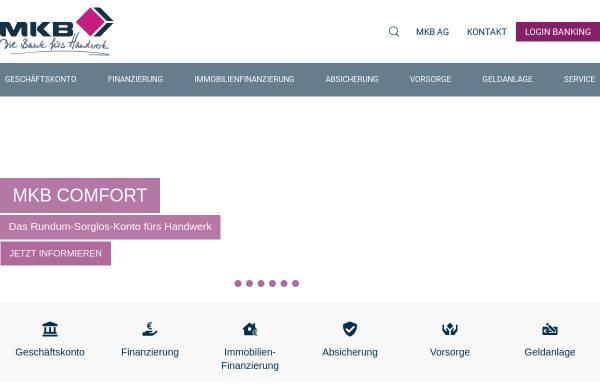 Vorschau von www.mkbag.de, MKB Mittelstandskreditbank AG