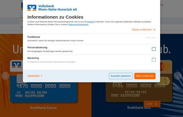 Vorschau von www.volksbank-boppard.de, Volksbank Boppard eG