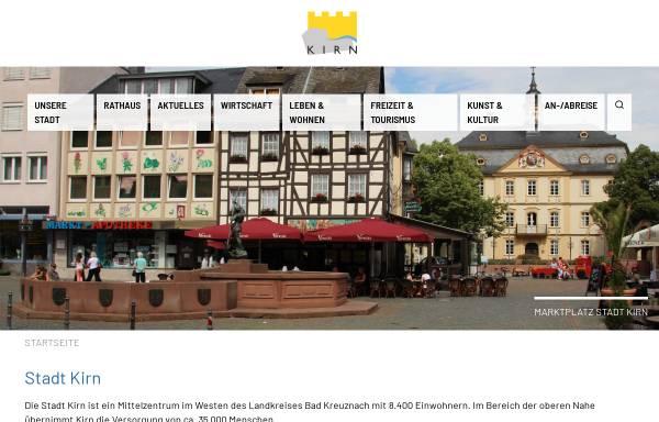 Vorschau von www.kirn.de, Stadt Kirn