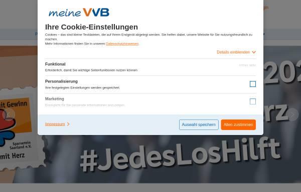 Vorschau von www.voba-saar-west.de, Volksbank Saar West eG