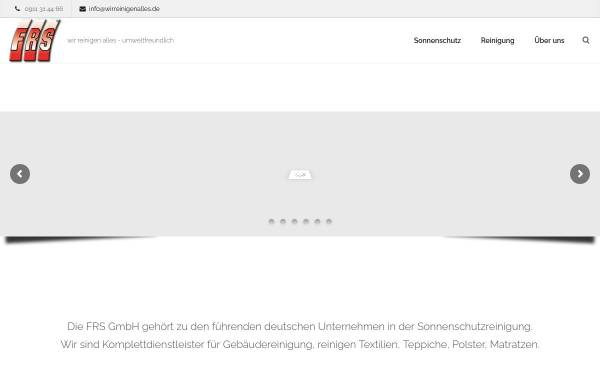 Vorschau von www.wirreinigenalles.de, FRS GmbH