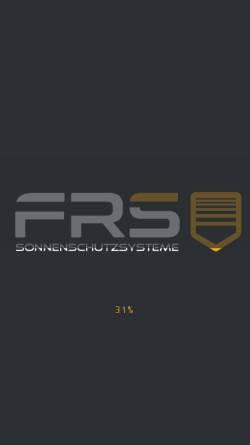 Vorschau der mobilen Webseite www.wirreinigenalles.de, FRS GmbH