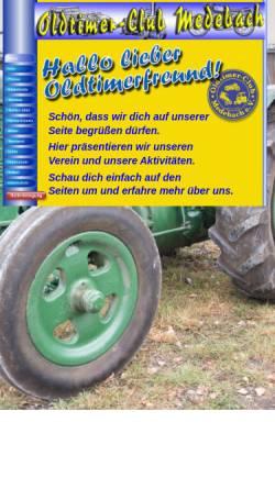 Vorschau der mobilen Webseite www.oldtimerclub-medebach.de, Oldtimerclub Medebach e. V.