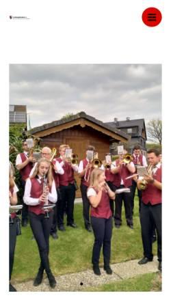 Vorschau der mobilen Webseite musikzugmedebach.de, Musikzug Medebach e.V.