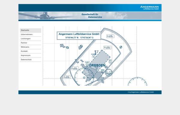 Vorschau von www.angermann-luftbildservice.de, Angermann Luftbildservice GmbH