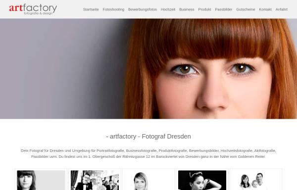 Vorschau von www.artfactory-dresden.de, Art Factory - Fotografie & Design