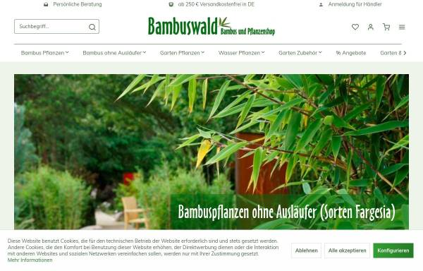Bambuswaldde Gartenbau Hofstetter Mühle In Heiligenberg