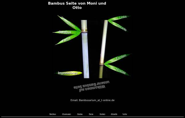 Vorschau von www.bambusarium.de, Moni und Otto