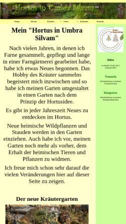 Vorschau der mobilen Webseite www.farngarten.de, Rosis Farnhompage