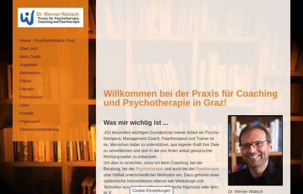 Vorschau von www.werner-walisch.at, Dr. Werner Walisch