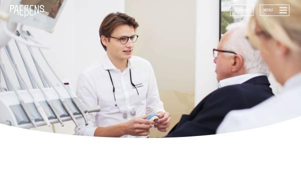 Vorschau von www.dr-paessens.de, Gemeinschaftspraxis Dr. Paeßens