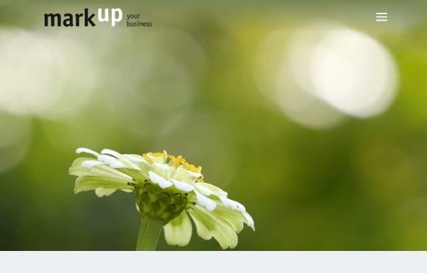 Vorschau von www.mark-up.de, Mark-Up Marketing Design GmbH