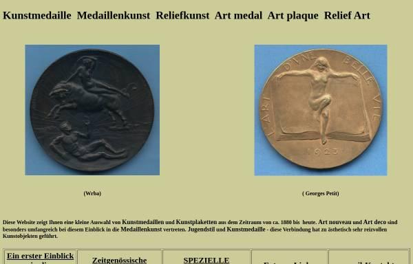 Vorschau von www.kunstmedaille.de, Kunstmedaille