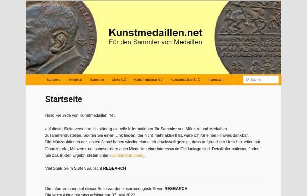 Vorschau von kunstmedaillen.net, Kunstmedaillen
