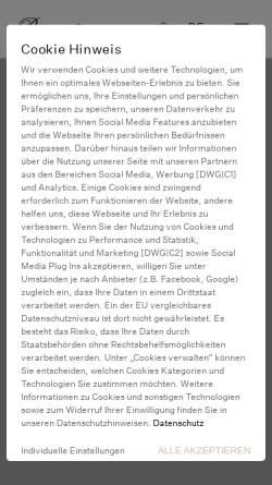 Vorschau der mobilen Webseite www.burmester.de, Burmester Audiosysteme GmbH