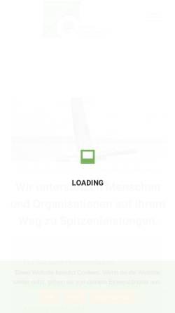 Vorschau der mobilen Webseite www.tangensq.de, tangensQ GmbH – Institut für zukunftsorientierte Qualifizierung