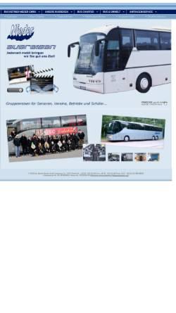 Vorschau der mobilen Webseite www.bn-reisen-berlin.de, Bus Betrieb Nieder GmbH