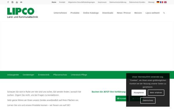 Vorschau von www.lipco.com, LIPCO GmbH