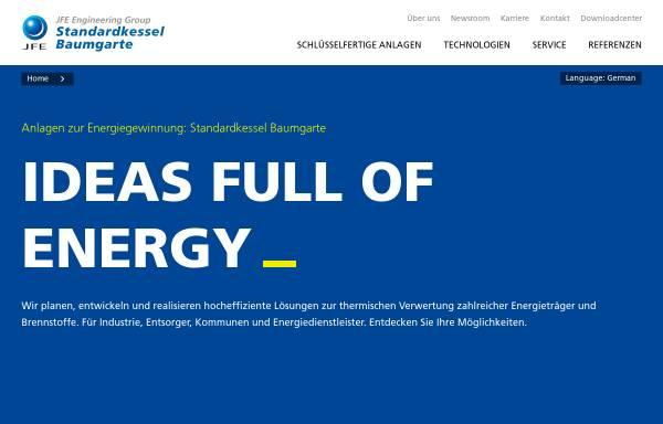 Eisenwerk Baumgarte Kessel- und Apparatebau GmbH in Bielefeld ...