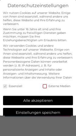 Vorschau der mobilen Webseite www.igs-anlagentechnik.de, IGS Ingenieurbüro für Anlagentechnik, Inh. Dipl-Ing. Gerd Schäfer