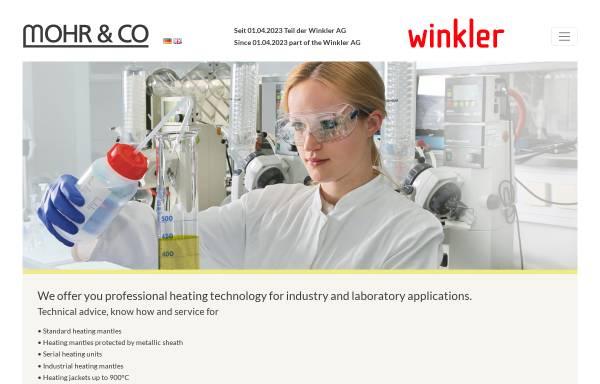Vorschau von www.labo-mohr.de, Mohr & Co Laborhandelsgesellschaft Inh. Harry Mohr