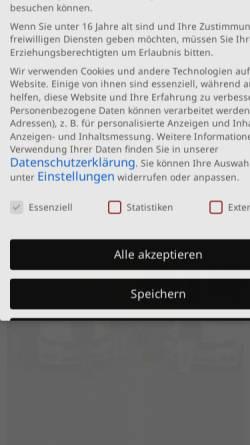 Vorschau der mobilen Webseite www.mobilepflege.net, Pflegedienst Lange