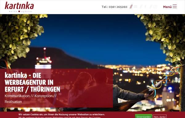 Vorschau von www.kartinka.de, kartinka Werbeagentur GmbH & Co. KG