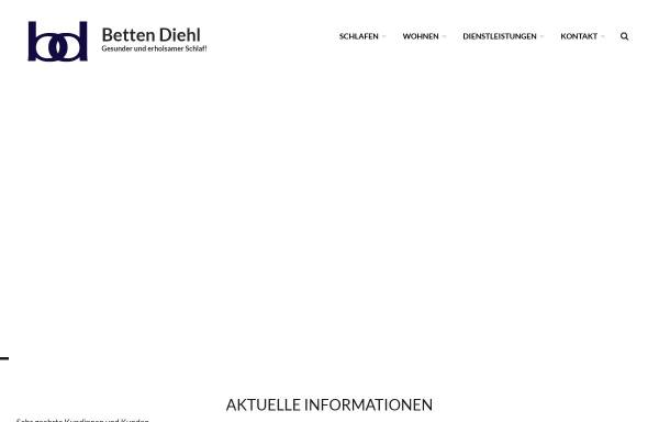 Vorschau von www.betten-diehl.de, Betten-Diehl